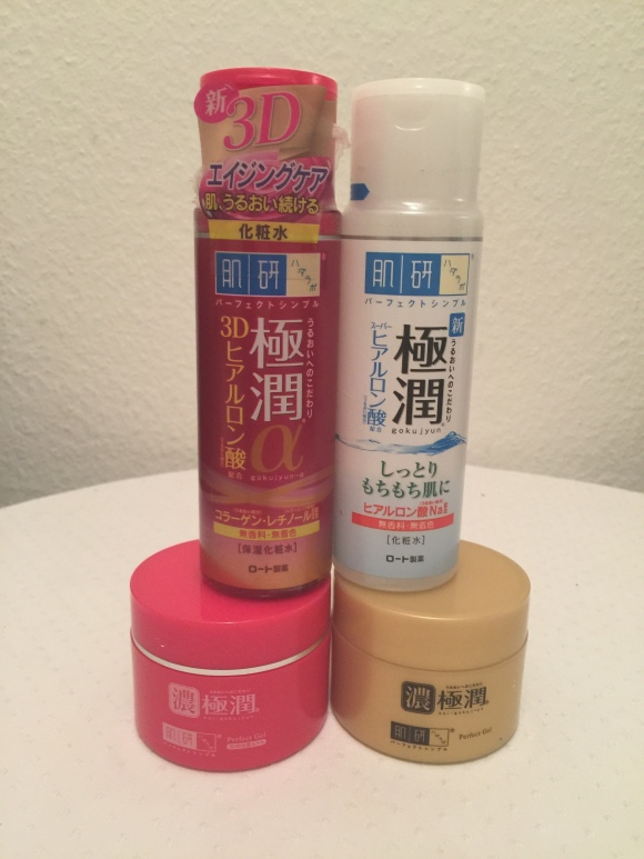 Hada Labo Super Hyaluronic Acid Lotion and Gel vs Hada Labo
